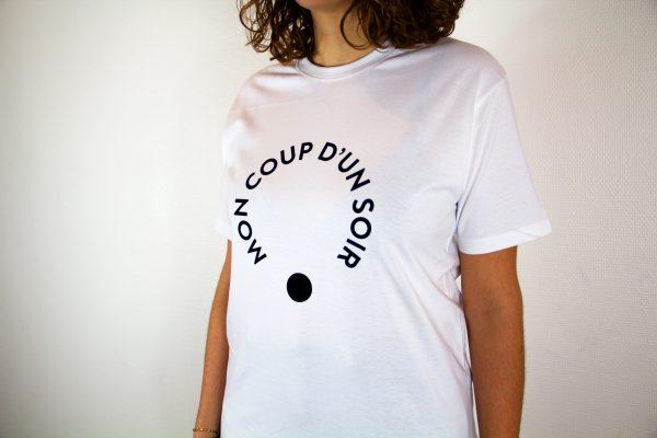 Les Intimes: T-shirt blanc vue centrée par Mon Coup D'un Soir