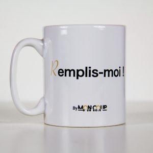 Mug Mon Coup D'un Soir Remplis moi les intimes